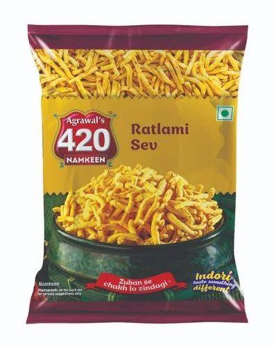 Ratlami Sev, Packaging Type: Packet, 47 70 G | ID: 19804775588