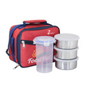 Steel Lunch Box With Glass