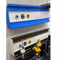 ICU Double Railing Bed Head Panel Unit
