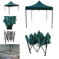 Quick Foldable Gazebo Tent - Heavy Duty - 10'x10' - Green