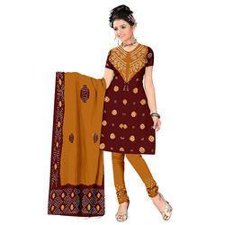 Causal Bandhani Suit