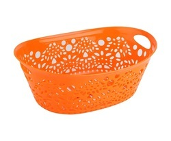 Plastic Fancy Basket - Big