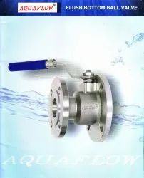 Aquaflow Flush Bottom Ball Valve Stainless Steel Ss Cf8,Cf8m