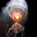 Lit Sky Balloon
