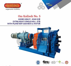 Sugarcane Crusher For Jaggery Making Extra Heavy King Size