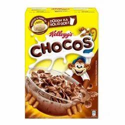 Chocolate Corn Kellogg''s Chochos 250 Grm Mrp 120/-, Packaging Type: Packet, Flakes