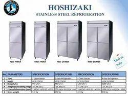 Four Door Stainless Steel Refrigerator
