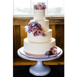 Vanilla Round 3 Tier Wedding Theme Cake, Packaging Type: Box