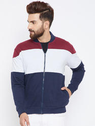 Men Full Sleeves Zipper Sweatshirt