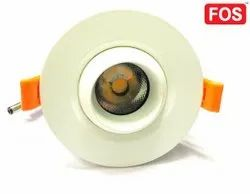 FOS LED COB Downlight 15W - 1650 LUMENS - 'Eyeball Type' Recessed Ceiling Lamp