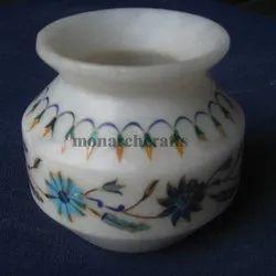 White Marble Pots
