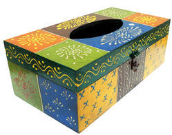 Multicolor Tissue Boxes