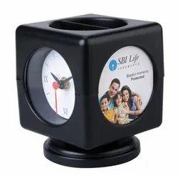 Table Clocks Cum Pen stand