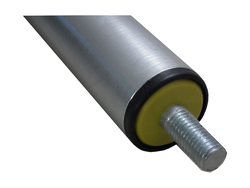 Gravity Rollers Zinc Plated