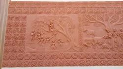 Artkeval Terracotta Mural, Packaging Type: Box