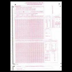 OMR Sheets Printing Service
