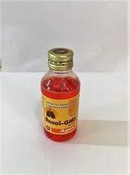 Ambroxol Hcl, Salbutamol Sulphate Guaiphenesion & Menthol Syrup