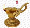 Lotus Flower Design Oil Lamp