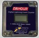 Digital Lightning Strike Counter