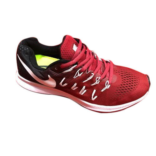 Mens Red Running Shoes, Size: 7-11, Rs