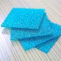 Blue Polycarbonate Diamond Sheet