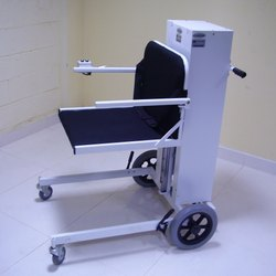 Motorized Ground Mobility Seat Up Down Wheelchair with Manual Pushing