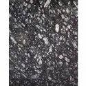 Commando Black Granite Slab, Thickness: 15-20 Mm