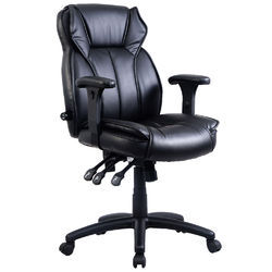 Black Medium Back Executive Chair