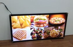 Aluminum And Metal Bakery LED Display Frames, Shape: Square And Rectangle