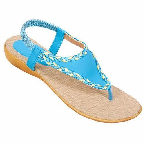 9c4e660729d6db Polymer Flat Ladies Sandal