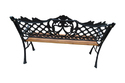 Garden Bench - C.I./Wood- 122 - Royal