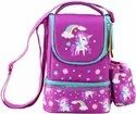Polyester Lunch Bag with Strap (Purple)