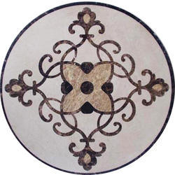 White Marble Round Coffee Table Top