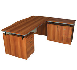 L Shape Director Table
