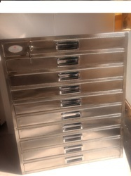 Stainless Steel HPLC Column Storage Cabinet