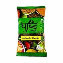 Pushti Coriander Powder, Packaging Type: Packet, Packaging Size: 100g