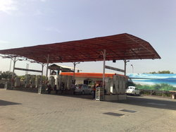 Petrol Pump Awnings