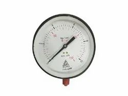 H Guru Make Pressed Steel Pressure Gauges