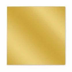 Golden Dull Gumming Sheet