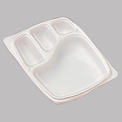 4C LID Disposable Meal Tray