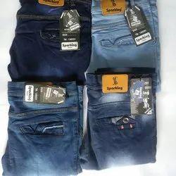 Denim Blue Mens Designer Jeans