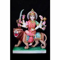 Blessing Durga Maa Statue
