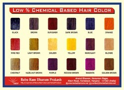 Low % Chemical Based Hair Color