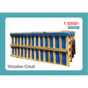 Rectangular Commercial Wooden Crate