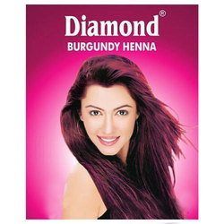 Natural Burgundy Henna Herbal Hair Color