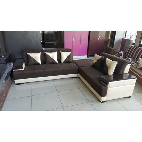 Brown And Cream Color 5 Seater Designer Sofa Set Rs 25000 Piece