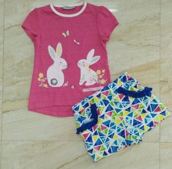 Cotton Girls Shorts Set, Age Group: 2y To 14y