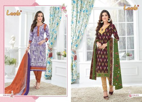 2712746460 Laado Vol 42 Cotton Printed Unstitched Dress Materials At Wholesale Rate