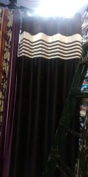 Polyester Door Curtains, Size: 4x7