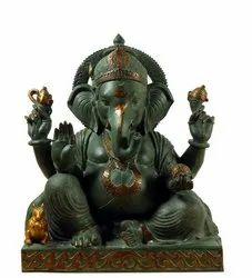 Capstona Ganesh Colorful Statue